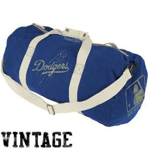 Los Angeles Dodgers Canvas Duffle Bag (Blue)