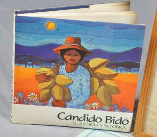 Bido Oil Acrylic Painting Cabeza Dominican Republic 1984 wCOA