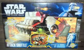 Star Wars Attack Shuttle Clone Republic Gunship