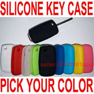 VW Silicone Key Fob Case Holder Cover Chains Bag so FIT