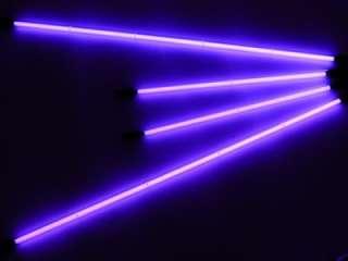 4PC UNDER CAR NEON LIGHTS KIT W/ REMOTE CONTROL PURPLE