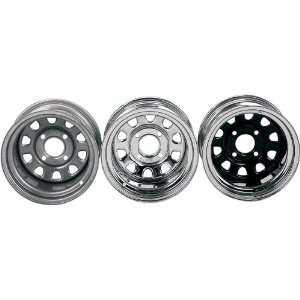 ITP Delta Steel Wheels Spun/Stamped Silver 12 Automotive