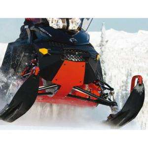 Ski Doo REV Extreme Skid Plate Bulkhead Protector RED
