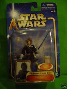Hasbro Star Wars Han Solo Hoth action figure carded.