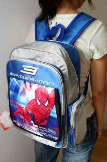 Spider Man Blue Bookbag school bag BackPack nylon NEW 2