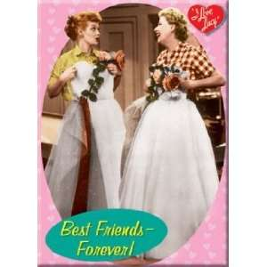 Love Lucy Best Friends Forever Magnet 26203LU  Kitchen
