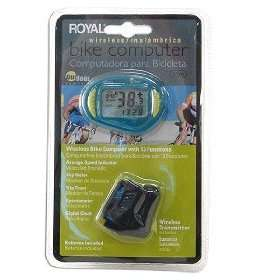 New Royal Wireless Bicycle/Bike Computer Speedometer