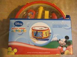 NEW MICKEY MOUSE CLUBHOUSE Party Band DRUM FLUTE