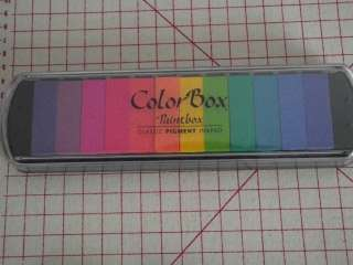how to use color box pigment stamp pad
