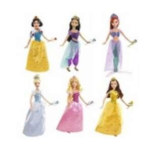 Disney Sparkling Princess Barbie Dolls Toys & Games