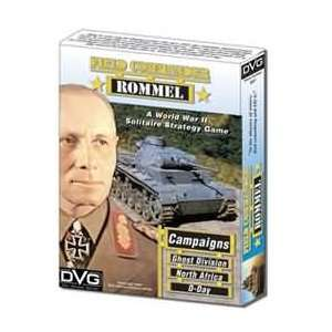 Field Commander Rommel World War II Solitare Strategy Game Books