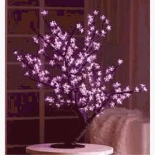 386959 Pink Cherry Blossom Led Tree  Pack of 4