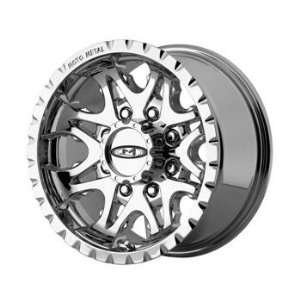 Moto Metal MO950 16x8 Chrome Wheel / Rim 6x135 with a 0mm Offset and a