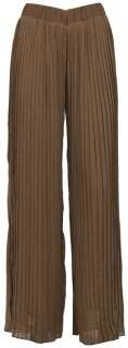 NEW WOMENS WIDE LEG PLEATED PALAZZO TROUSERS SIZE 8 10