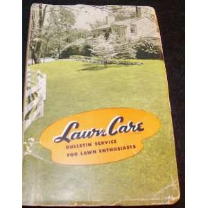 Lawn Care Bulletin Service for Lawn Enthusiasts: Scott & Sons: Books