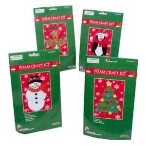 Christmas Foam Craft Kit Case Pack 72 Home & Kitchen