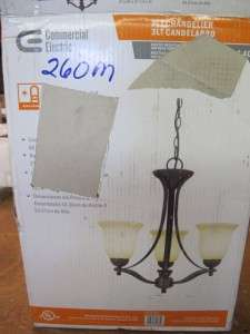 NEW COMMERCIAL ELECTRIC FOYER LIGHT CHANDELIER RUSTIC IRON ANTIQUE