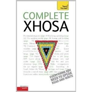 Complete Xhosa (9781444105803) Silvia Skorgei Beverly Kirsch Books
