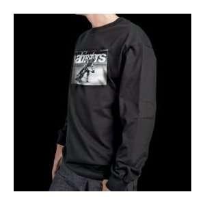 Alpinestars Dirt Track Long Sleeve T Shirt   X Large/Black