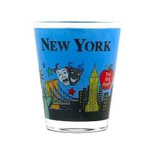New York Shot Glass   Hand Paint, New York Shot Glasses, New York City