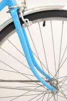Vintage 1974 Schwinn Breeze 17 Bike Opaque Blue Ladies Bicycle