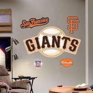 San Francisco Giants Logo Wall Graphic by Fathead