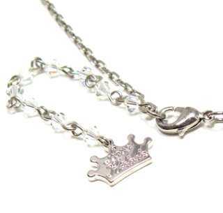 Disney Couture Silver Cinderella Slipper Necklace