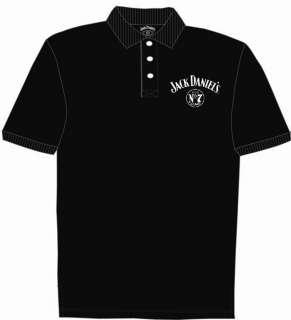 Jack Daniels Embroidered Golf Shirt Polo medium