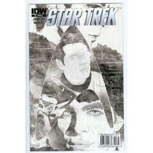 Star Trek #2 Variant Cover RI A Mike Johnson, Stephen Molnar Books