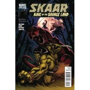 Skaar King of the Savage Land #2: Rob Williams: Books