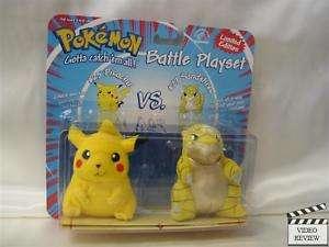 Pokemon Battle Playset   Pikachu vs. Sandshrew