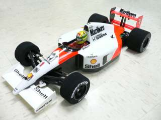 10 1991 F1 World Champ Ayrton Senna Mclaren Mp4 / 6 RC Body Tamiya