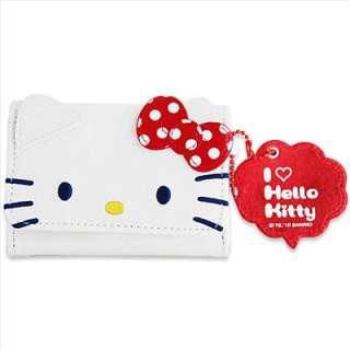 Hello Kitty ID / Name Card Holder Bag Pok a Dots D cut