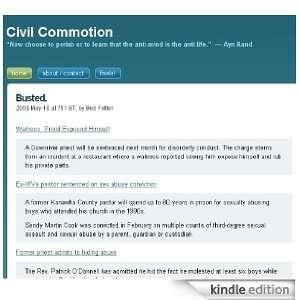 Civil Commotion Kindle Store Bob Felton