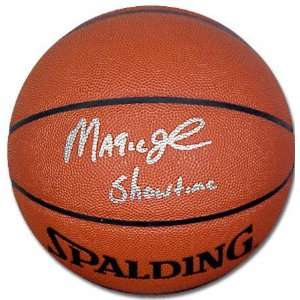 Magic Johnson Autographed Showtime Pro Basketball