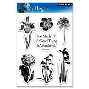 Penny Black Clear Stamp 5X7.5 Sheet Allegro Arts