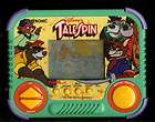 DISNEY TALES SPIN CARTOON TIGER ELECTRONIC HANDHELD ARCADE VIDEO GAME