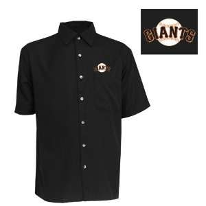 San Francisco Giants Premiere Shirt by Antigua   Black