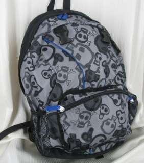 NWT GAP KIDS Boys BACKPACK and LUNCH BOX BAG Set SKULL Crossbones