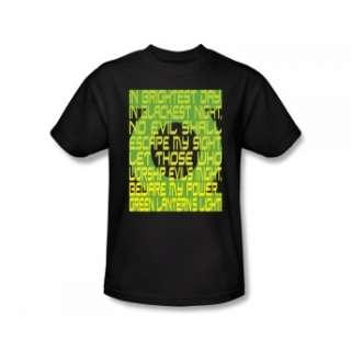 Green Lantern Lantern Corps Oath DC Comics Super Hero Toddler T Shirt