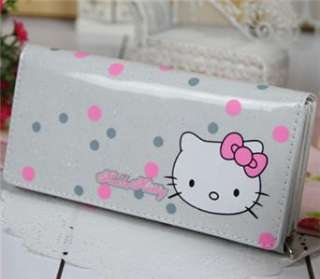 SANRIO HELLO KITTY LONG WALLET KT COIN BAG PURSE P26 W