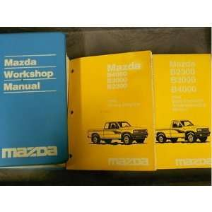 Mazda B Series Truck Service Repair Shop Manual SET OEM FACTORY BOOKS