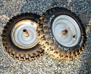 Craftsman Noma Murray snowblower rim tire 4.8 x 8 nhs Pair 8 627804x6