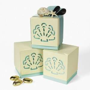 Summer Wedding Favor Boxes   Party Favor & Goody Bags & Paper Goody