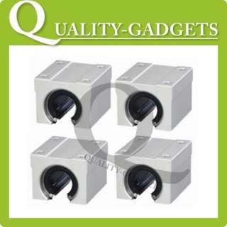 2x CNC DIY Units 16mm SBR16LUU Linear Ball Bearing Block For Milling