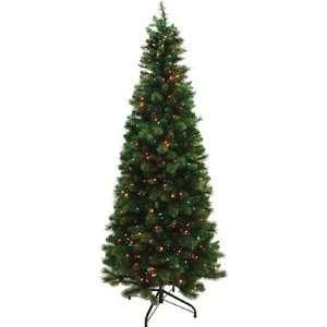 Prelit Christmas Tree, 4 1/2 Feet, Clear Lights