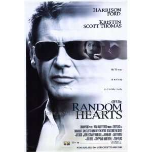 Random Hearts Poster 27x40 Harrison Ford Kristin Scott Thomas Sydney