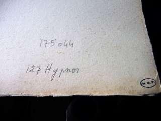 SALVADOR DALI   HYPNOSE   HYPNOSIS   ART HAND SIGNED