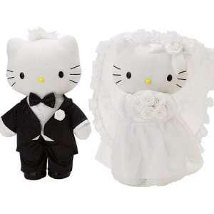 Sanrio Hello Kitty Bridal Plush Doll Set   Large Toys