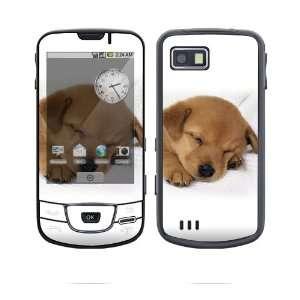 Samsung Galaxy (i7500) Decal Skin   Animal Sleeping Puppy
